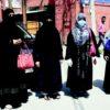 وادی کشمیر میں بیہائی گئی آزادکشمیر کی خواتین نے سفری دستاویزات اور شہریت دینے کا مطالبہ کرتے ہوئے پریس کالونی لالچوک سرینگر میں خاموش احتجاج کیا