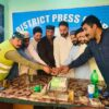 پاکستان تحریک انصاف ضلع جہلم ویلی کی جانب سے 14 اگست جشن آزادی کی مرکزی تقریب پریس کلب ہٹیاں بالا میں منعقد