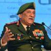 چین کیساتھ سرحدی تنازع کسی وقت بھی بڑی لڑائی میں تبدیل ہوسکتا ہے:بھارتی چیف آف ڈیفنس سٹاف جنرل بپن راو